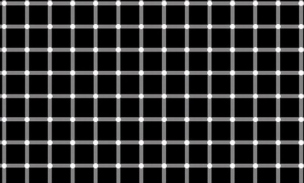 Hermann-grid illusion