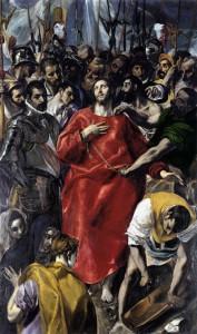 Source: http://commons.wikimedia.org/wiki/File:El_Expolio_del_Greco_Catedral_de_Toledo.jpg