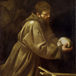 Saint Francis in Prayer (Caravaggio