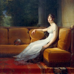 Madame Bonaparte dans son salon de Malmaison by François Gérard. Source: http://en.wikipedia.org/wiki/File:Emprjose.jpg