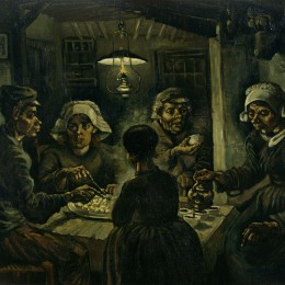 The Potato Eaters by Vincent van Gogh.